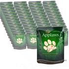 Applaws-säästöpakkaus 48 x 70 g - kananrinta & villiriisi