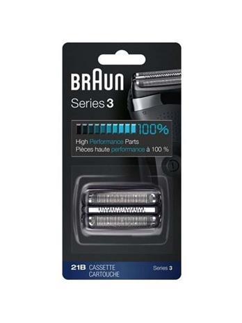 Braun 21B Series 3, ajopäät