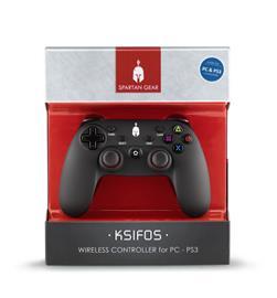 Spartan Gear Ksifos Wireless Controller, PC/PS3 -peliohjain