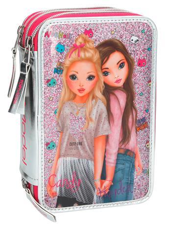 Top Model Triple Pencil Case, penaali