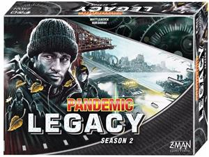 Pandemic Legacy Season 2: (Black Edition) LAUTA