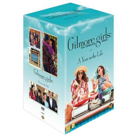 Gilmoren tytöt: kaudet 1-7 + A Year in the Life (Gilmore Girls: The complete collection), TV-sarja