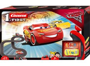 Carrera First Disney Autot (Cars) 3, autorata 3,5 m