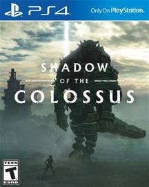 Shadow of the Colossus, PS4-peli