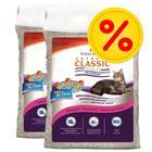 Säästöpakkaus: Extreme Classic Baby Powder -kissanhiekka - 2 x 14 kg