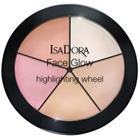 IsaDora Face Glow Highlighting Wheel 18 gr No. 051