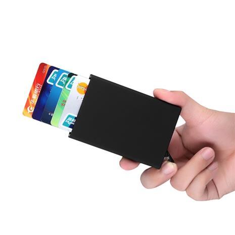 RFID-suojattu pop-up-korttikotelo
