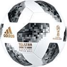 adidas Jalkapallo World Cup 2018 Telstar 18 Ottelupallo - Valkoinen/Musta/Hopea