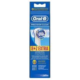 Braun Oral-B Precision Clean, vaihtoharjat 8+2 kpl