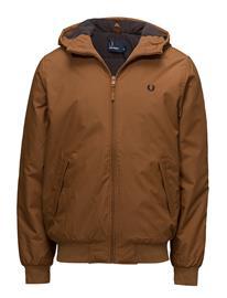 Fred Perry Brentham Jacket DARK CARAMEL