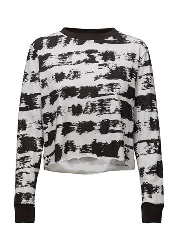 Cheap Monday Bed Ls Tee Paint Stripe BLACK / WHITE