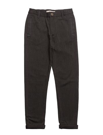 Mango Kids Straight Suit Trousers CHARCOAL