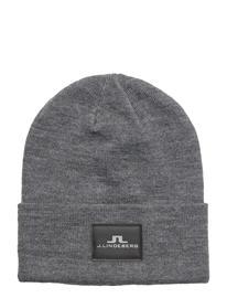 J. Lindeberg Ski Stinny Hat Wool Blend GREY MELANGE
