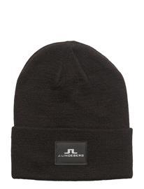 J. Lindeberg Ski Stinny Hat Wool Blend BLACK
