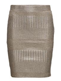Saint Tropez Foil Printed Rib Skirt ASTI