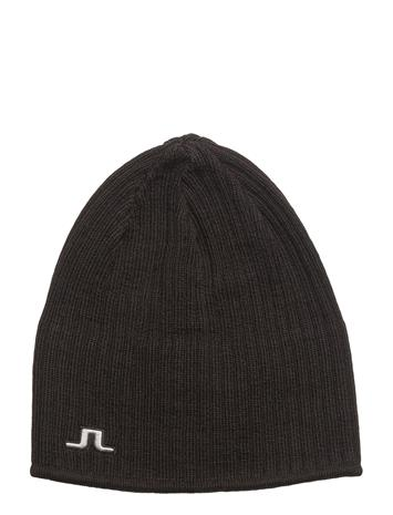J. Lindeberg Ski Cecil Hat Wool Blend BLACK