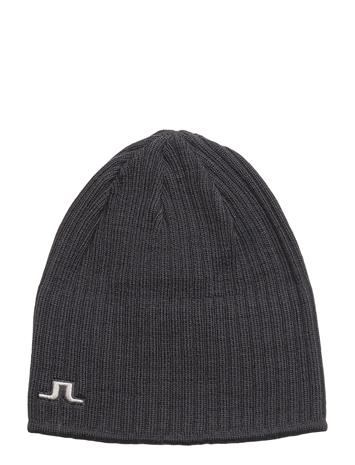 J. Lindeberg Ski Cecil Hat Wool Blend DK GREY