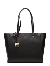 DKNY Bags Lynn Double Zip Tote BLACK