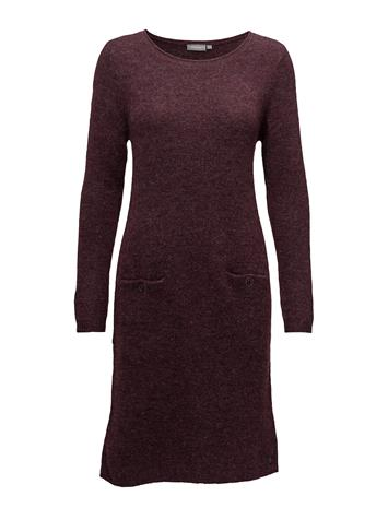Fransa Jimella 1 Dress RUBY WINE MELANGE