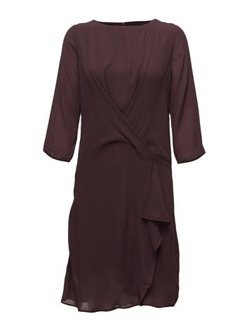 Saint Tropez Dress With Draped Hem FUDGE