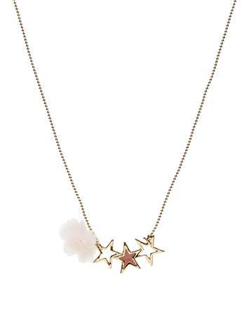 Mango Kids Star Necklace GOLD
