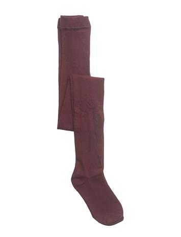 Mango Kids Smooth Tights DARK RED