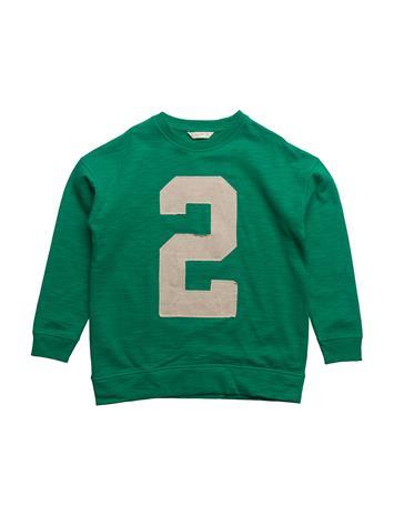 Mango Kids Embossed Design Sweatshirt BRIGHT GREEN