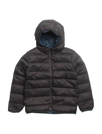 Mango Kids Quilted Down Anorak CHARCOAL