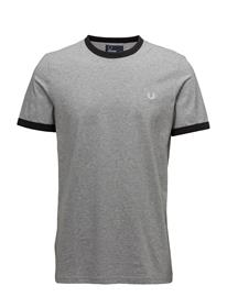 Fred Perry Ringer T-Shirt STEEL MARL