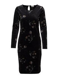 Vila Vivelvy Tasja L/S Dress BLACK