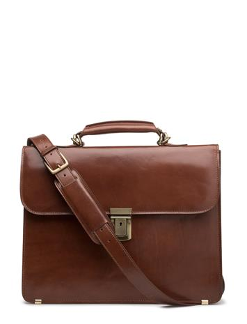 Baron Briefcase Small COGNAC