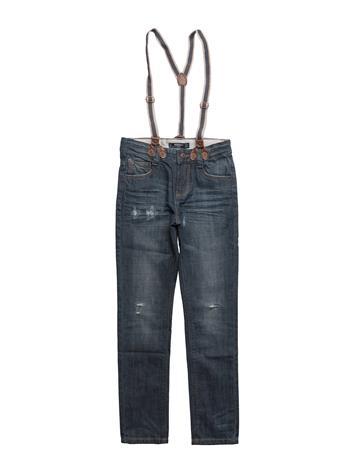 Mango Kids Straight Fit Jeans OPEN BLUE