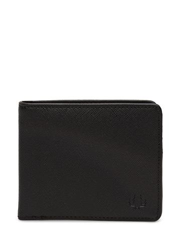 Fred Perry Billfold Wallet BLACK