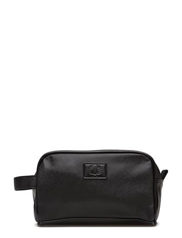 Fred Perry Travel Kit Bag BLACK