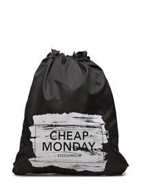 Cheap Monday Rapid Gym Bag Paint Box BLACK