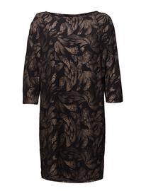 Saint Tropez Foil Printed Dress COPPER