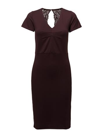 Saint Tropez Interlock Dress W. Lace FUDGE
