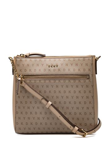 DKNY Bags Bryant Zip Crossbody CHINO LOGO-EGGNOG