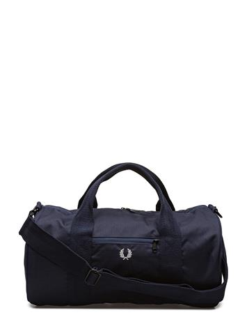 Fred Perry Twill Barrel Bag NAVY