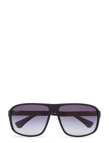 Emporio Armani Sunglasses Essential Leisure BLACK RUBBER/GREY GRADIENT