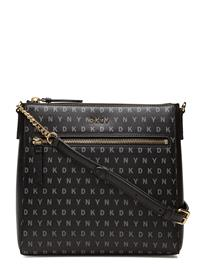 DKNY Bags Bryant Zip Crossbody BK LOGO-BK