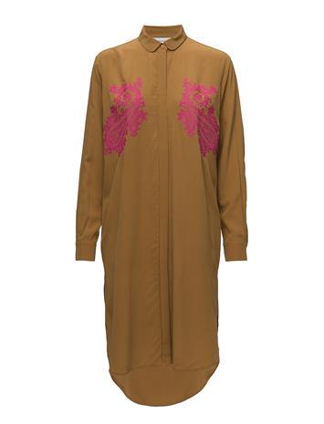 Samsøe & Samsøe Riss Nb Shirt Dress 7879 GOLDEN BROWN