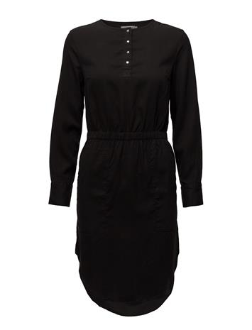 Calvin Klein Jeans Darcy Shirt Dress Ls CK BLACK