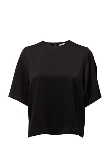 Filippa K Shiny Party Top BLACK