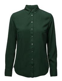 Calvin Klein Jeans Regular Shirt Tencel TREKKING GREEN