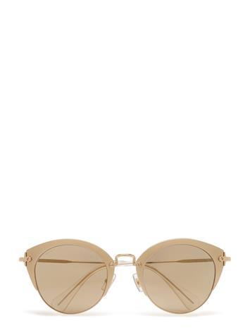 Miu Miu Sunglasses Cat Eye SAND PALE GOLD