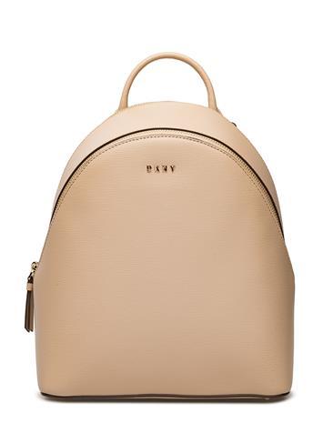 DKNY Bags Bryant Med Backpack EGG NOG