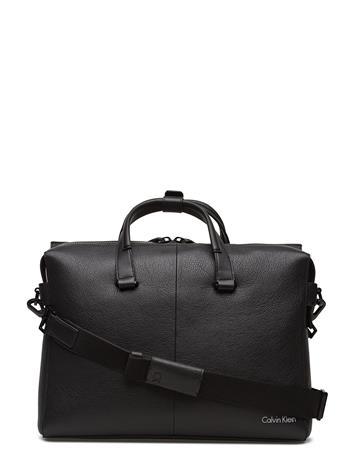 Calvin Klein Double Tack Laptop B BLACK