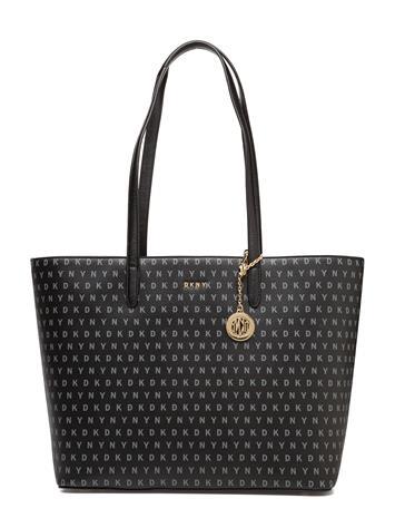 DKNY Bags Bryant Large Tote BK LOGO-BK