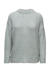 Mango Chunky-Knit Sweater TURQUOISE - AQUA